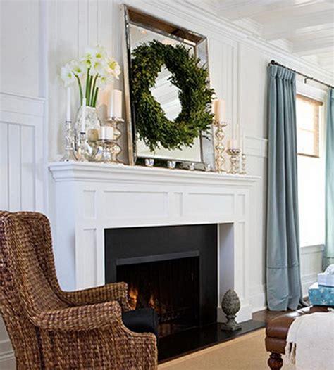 inspiring holiday fireplace mantel decorating ideas