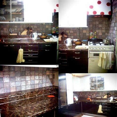 Instant Countertops by Instant Peel And Stick Granite Look Countertop Roll