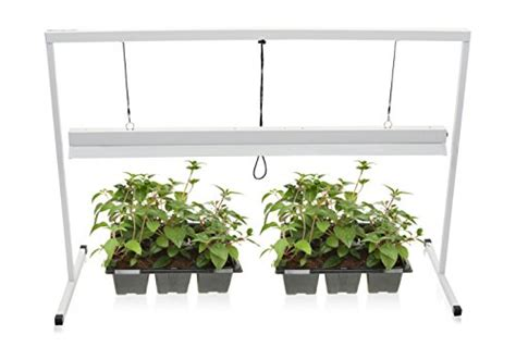 t5 grow lights for indoor plants milliard 4 foot plant starter 2 bulb t5 grow light system