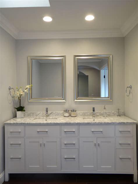master bathroom suite  double vanity  sherwin
