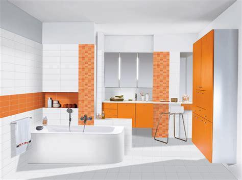 salle de bain vitaminee inspiration une salle de bains orange inspiration bain
