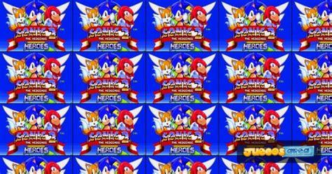 sonic  heroes juega gratis  en juegosareacom