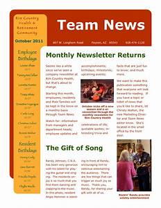 email sample microsoft newsletternew html email template With hr newsletter template