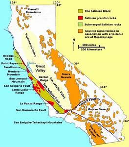 Coast Ranges San Andreas Fault Diagram