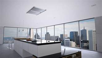 kitchen island vent zephyr integrated modern kitchen ceiling ranges and island vent