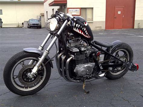 Suzuki Bobbers And Choppers Built At Cheap Chopperz