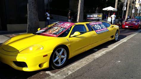 1280 x 768 jpeg 85kb. Ferrari limousine Hollywood California - YouTube