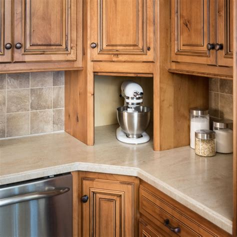 appliance garages kitchen cabinets appliance solutions storage solutions custom wood 4166