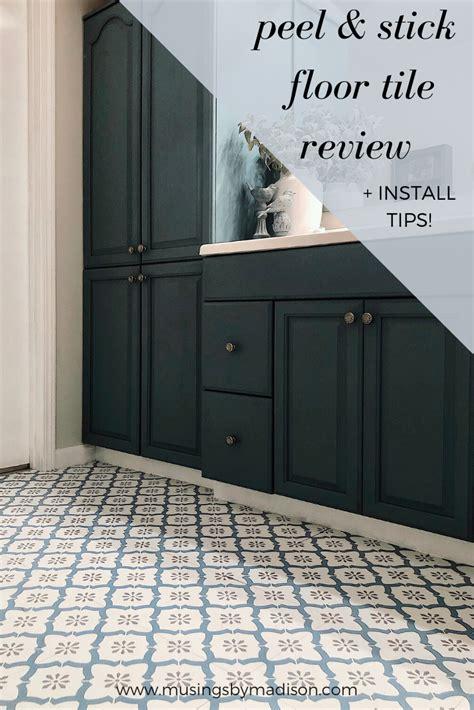 floorpops peel stick vinyl floor tiles review tips