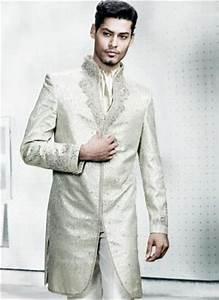 Costume Homme Mariage Blanc : blanc national indien de mariage costume homme de la soie ~ Farleysfitness.com Idées de Décoration
