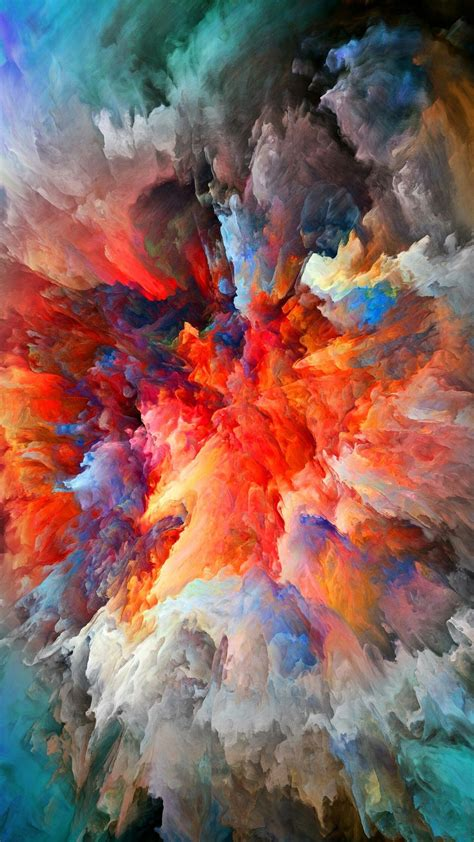 Digital Painting Background Hd Images by Colorful Smoke Explosion Wallpapers In 2019 Colorful
