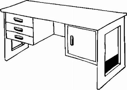 Desk Furniture Coloring Pages