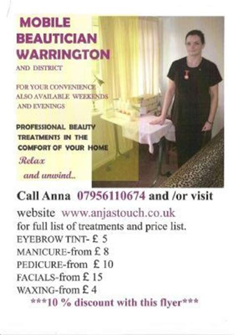 anjas touch mobile beauty warrington  reviews