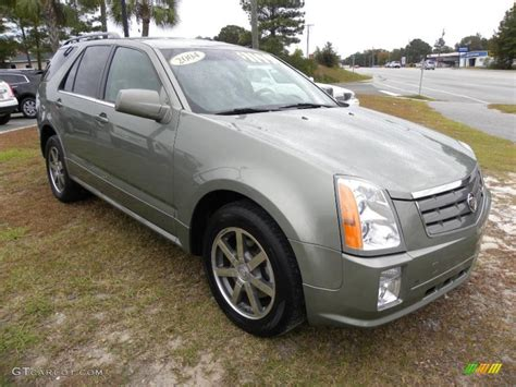 2004 Cadillac Srx by Silver Green Metallic 2004 Cadillac Srx V8 Exterior Photo