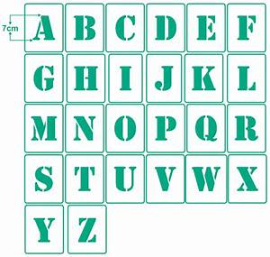 Buchstaben Zum Aufkleben Wetterfest : einzelne buchstaben 7cm hoch abc wand mal textil ~ Watch28wear.com Haus und Dekorationen