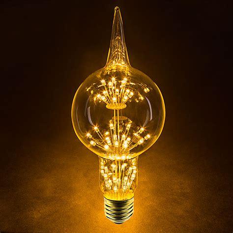 Led Fireworks Bulb  G80 Decorative Alien Light Bulb 15
