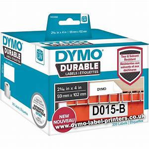 Dymo labelwriter 1933088 durable shipping labels dymo for Dymo label stickers
