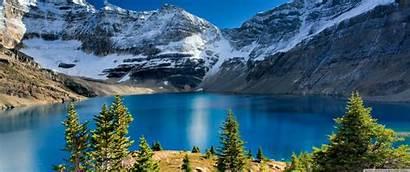 Nature Landscape Lake Mountain 1440 3440 Ultra
