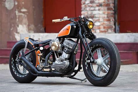Custom Panhead By Thunderbike Customs Germany