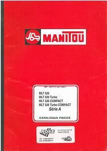 Manitou Maniscopic Telescopic Handler Mlt 526 Turbo