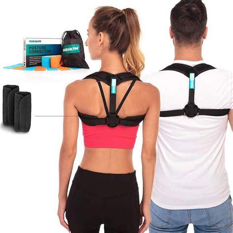Back Posture Corrector Brace Device Adjustable ...