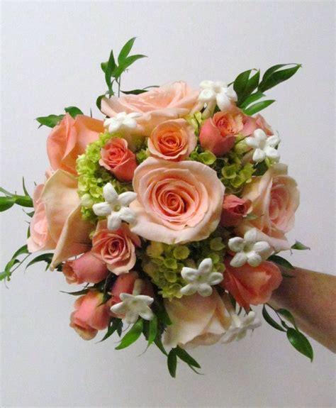 peach  coral flowers   wedding  glen oak