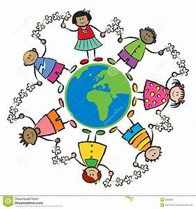 Kids, World, Peace-AFRICA EURO Stock Vector - Image: 3032081