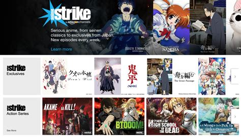 anime strike launches its own curated channels