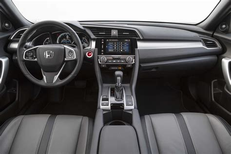 honda civic 2017 interior 2017 honda civic reviews and rating motor trend canada
