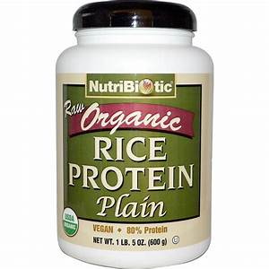 Raw Organic Sprouted Brown Rice Protein Powder