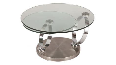 bureau ikea noir table basse ronde en verre trempé et acier brossé pas cher