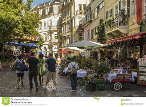 Shopping Center Baden Baden by Baden Baden Historic Center Germany Editorial Image