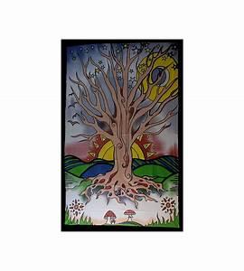 Arbre De Vie Deco : tapisserie arbre de vie acheter pas cher tenture arbre de vie deco ~ Dallasstarsshop.com Idées de Décoration