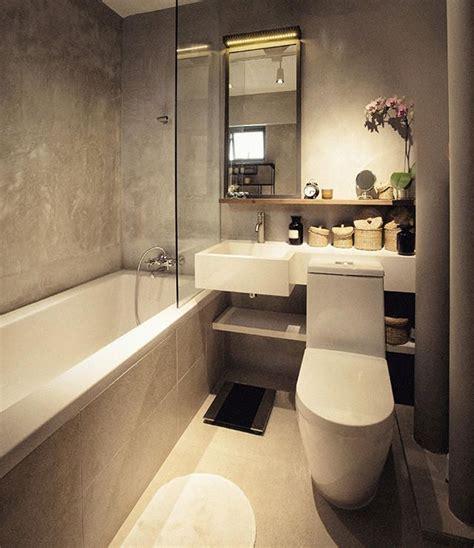 Modern Bathroom Finishes by Cement Screed Wall Finish Bathroom Design Ideas