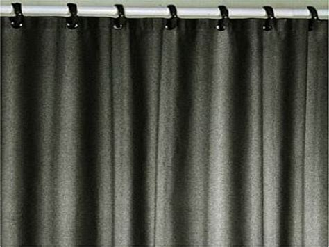 black fabric bath shower curtain liner bathroom