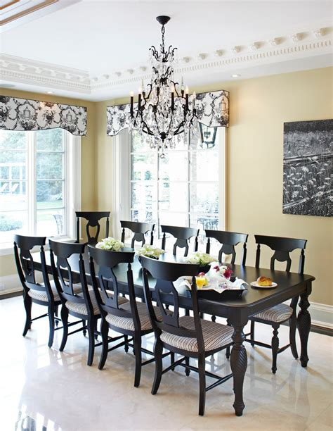 black dining room table black lacquer dining room table and chairs