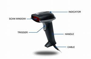 Adesso Nuscan 5000 2d Ccd Barcode Scanner
