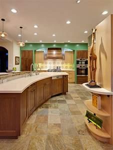 la cuisine arrondie dans 41 photos pleines d39idees With couleur tendance hall d entree 19 le meuble console d entree complate le style de votre