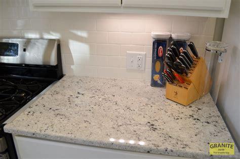 cotton white granite kitchen counter upgrades kansas city mo dean  granite guy