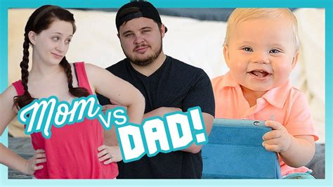 MOM VS DAD! | Look Who's Vlogging: Daily Bumps (Episode 13