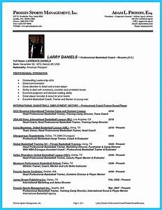 awesome captivating thing for perfect and acceptable With basketball player resume template