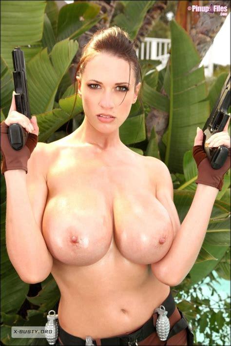 Lara Croft Big Breasts Cosplay 022 Lara Croft Big