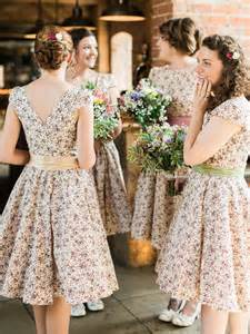 Barn Wedding Bridesmaid Dresses by Rustic Wedding At Shustoke Farm Barn With Floral