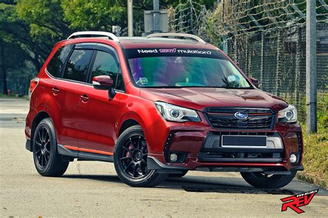 red subaru forester 2016 king of the forest subaru forester 2 0xt