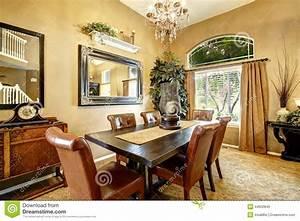 salle a manger dans la maison americaine de luxe photo With salle a manger americaine