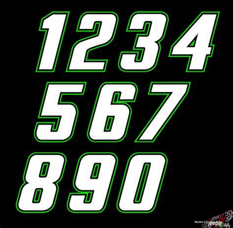 joe gibbs number fonts images nascar race car number