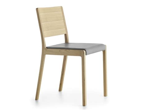 solid wood chair padded seat idfdesign