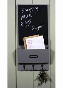 grey notice board black board with letter rack With grey letter board