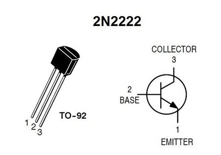 Transistor Pin Diagram by All About 2n2222 Transistor And Its Circuit Diagrams