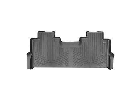 weathertech floor mats f250 2017 2018 f250 f350 supercrew with front buckets weathertech rear digitalfit floor mat black